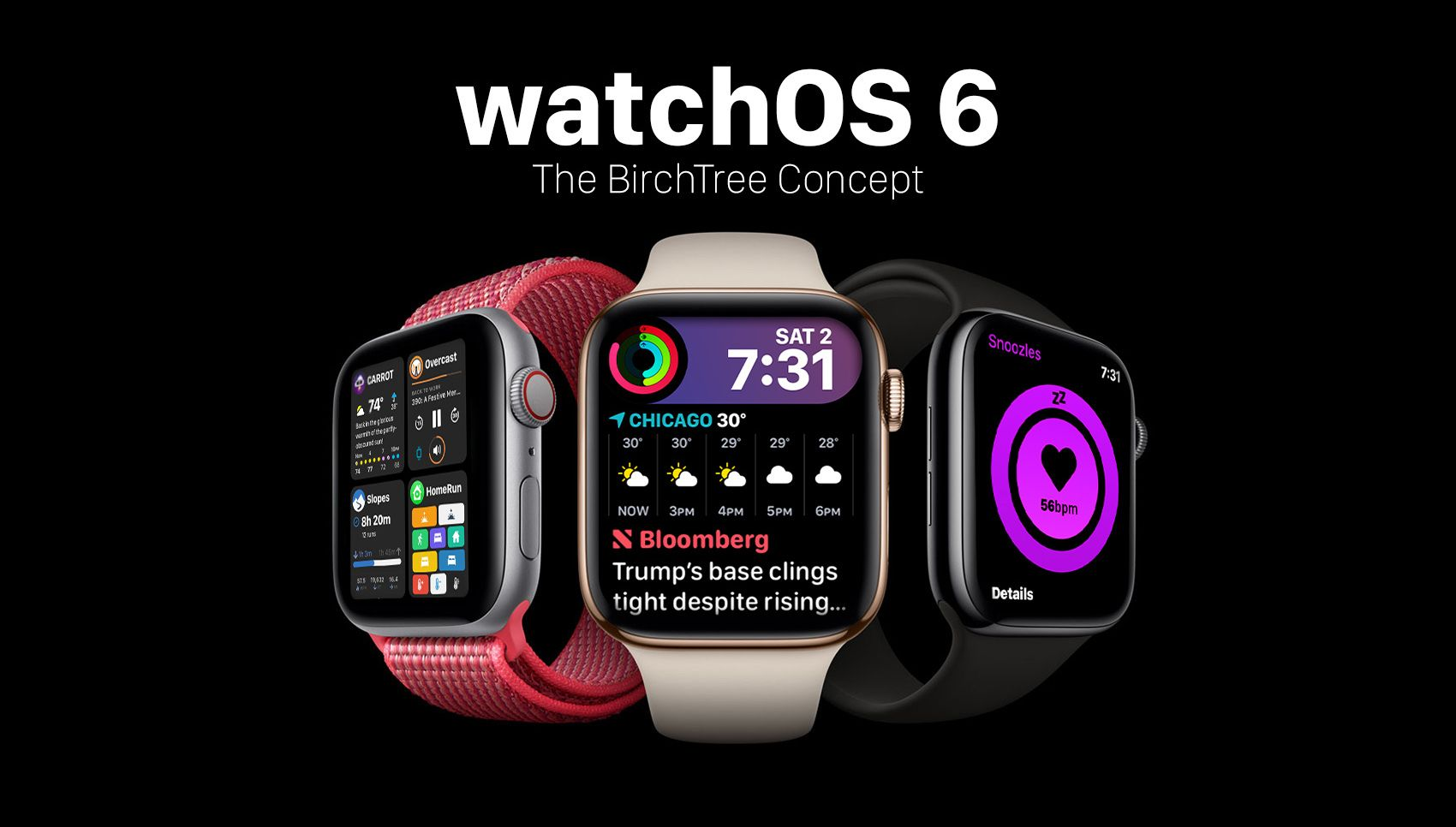 watchOS 6: The BirchTree Concept