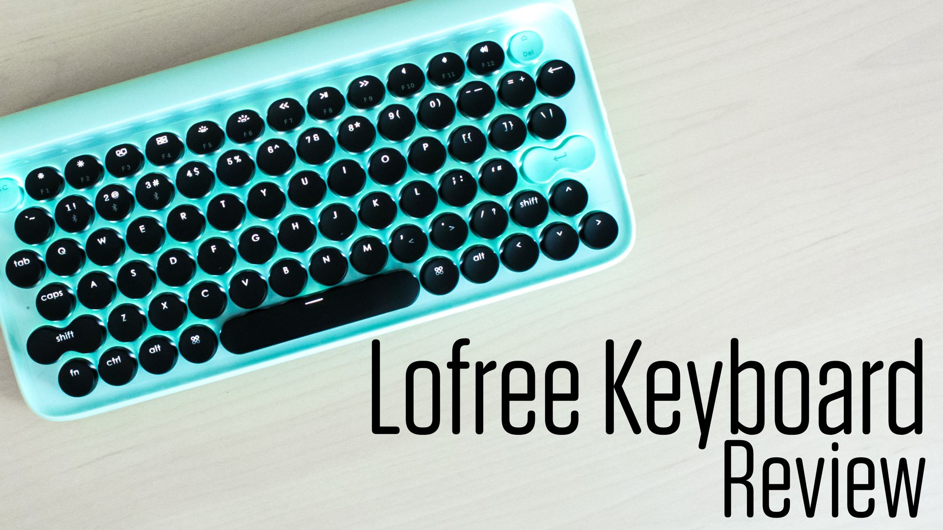The Lofree Keyboard Review