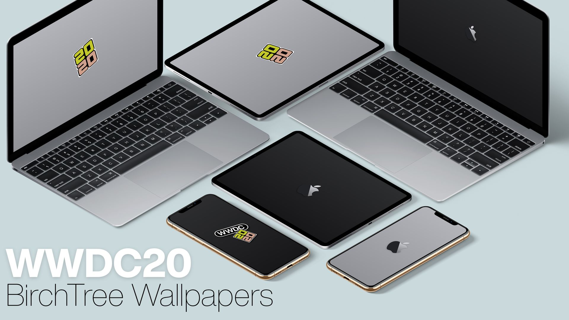 WWDC20 Wallpapers for iPhone, iPad, and Mac