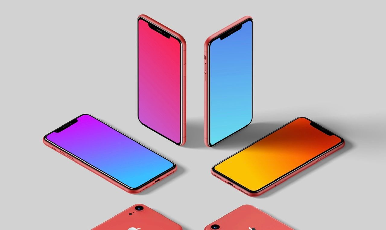 Today at Apple at Home Gradient Wallpapers