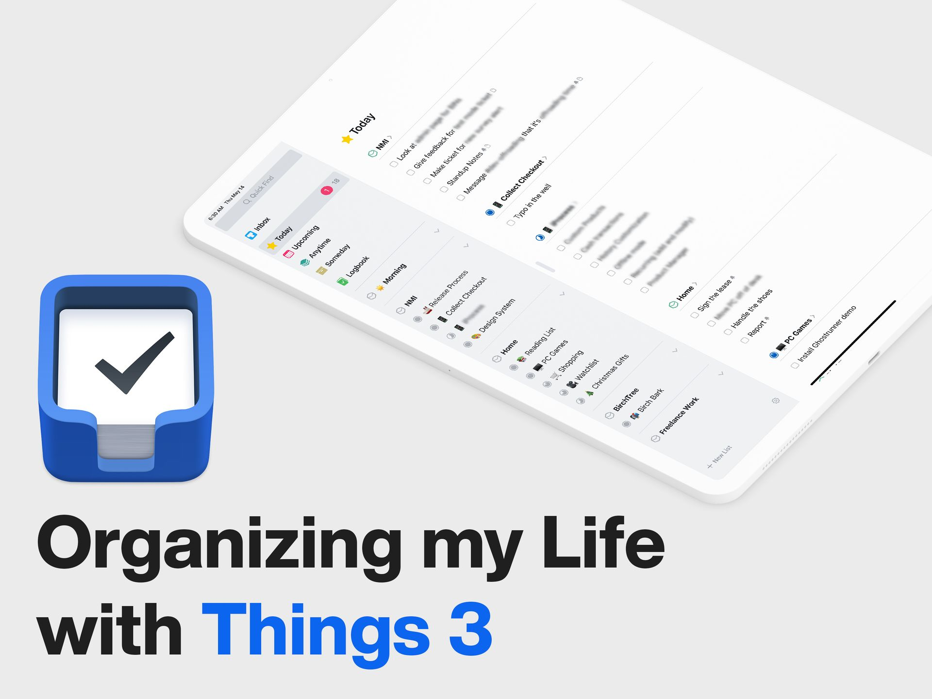 How I Use Things 3 To Organize My Life