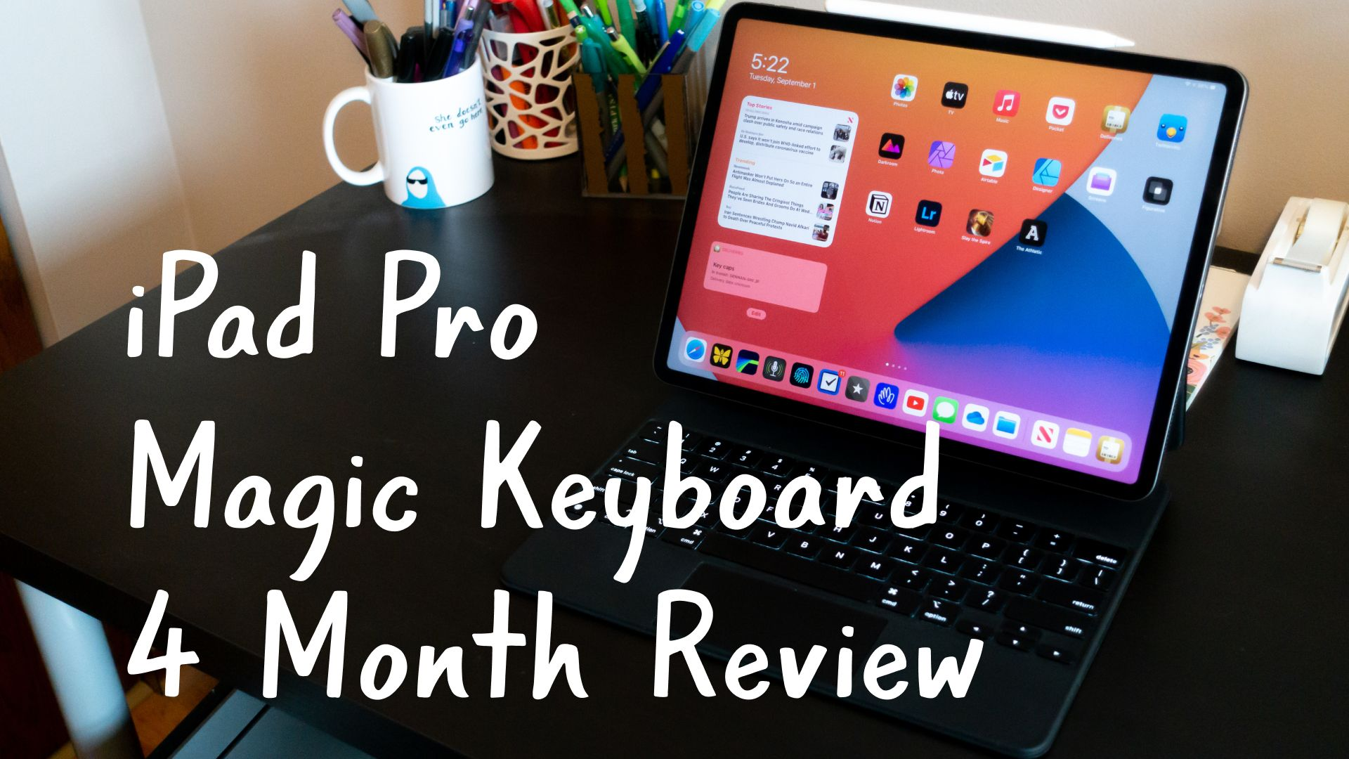 iPad Pro Magic Keyboard 4 Month Video Review