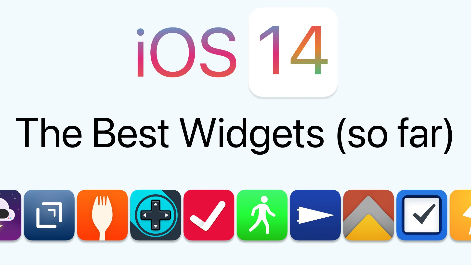 10 of the Best Widgets I've Found in iOS 14 (so far)