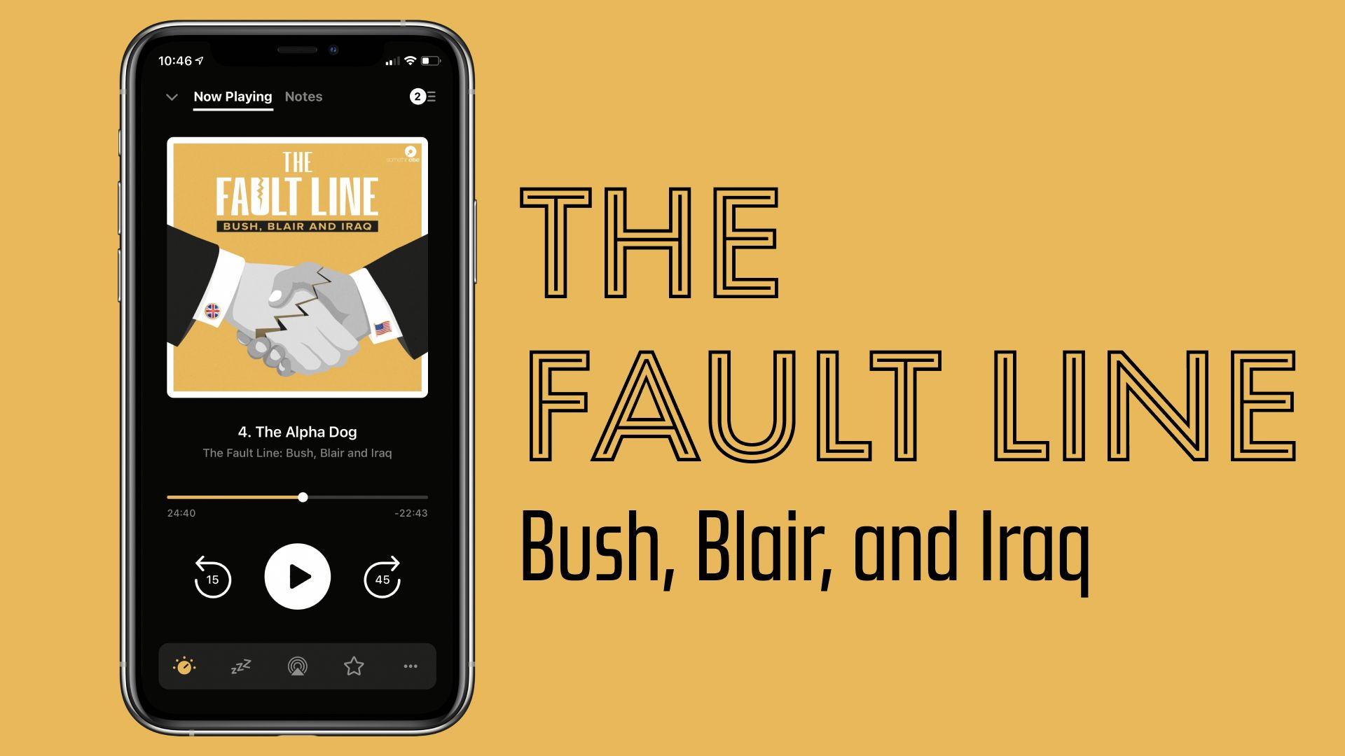 Podcast Recommendation: The Fault Line, Bush, Blair, and Iraq