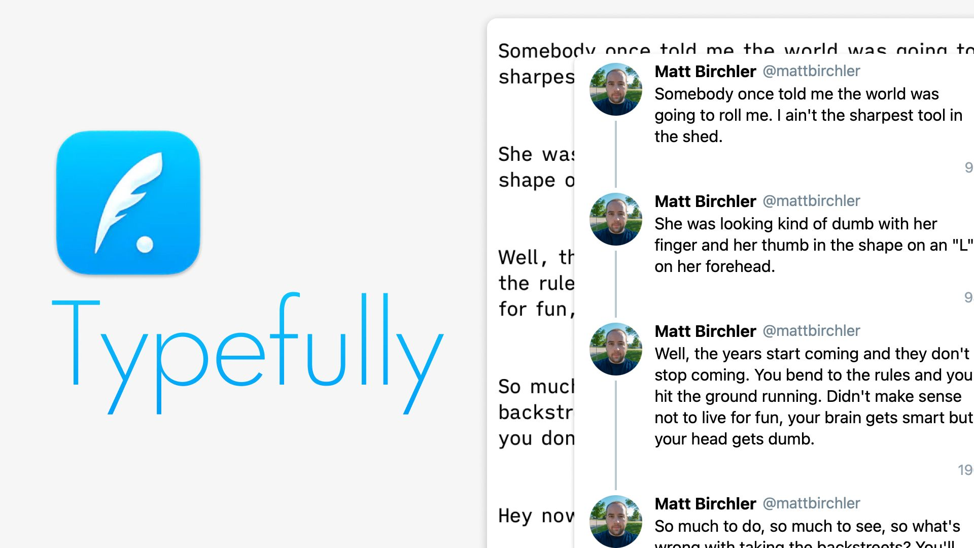 A First Look at Typefully, a Beautiful Web App for Posting Threads to Twitter
