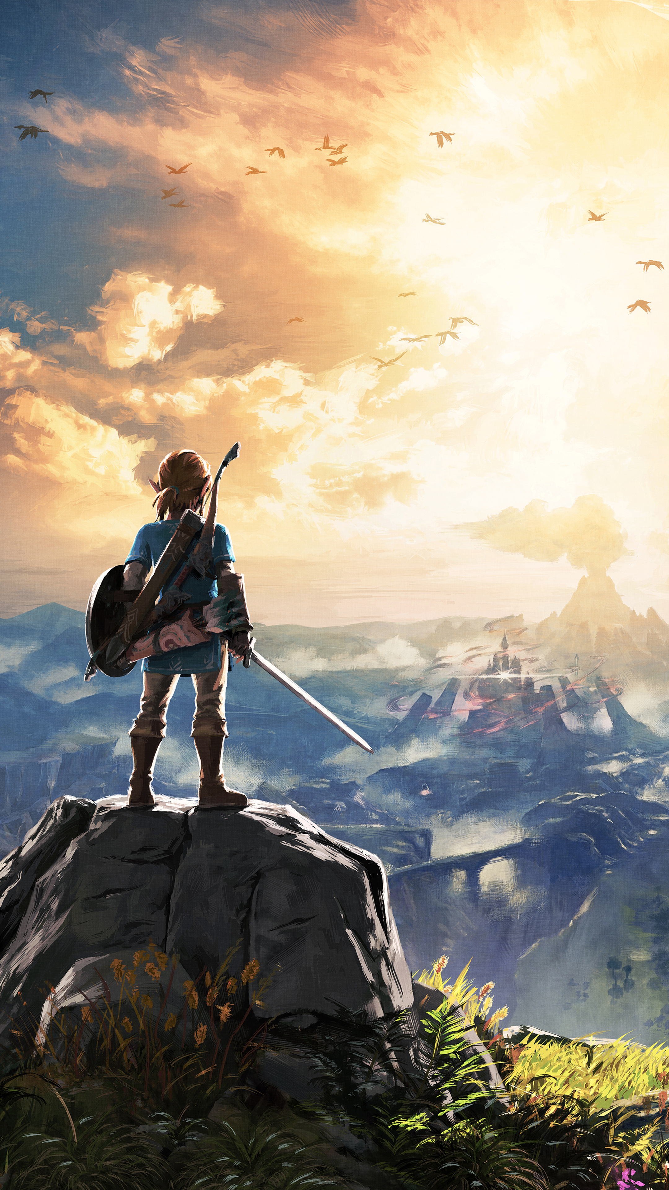 The Legend Of Zelda Breath Of The Wild Wallpapers
