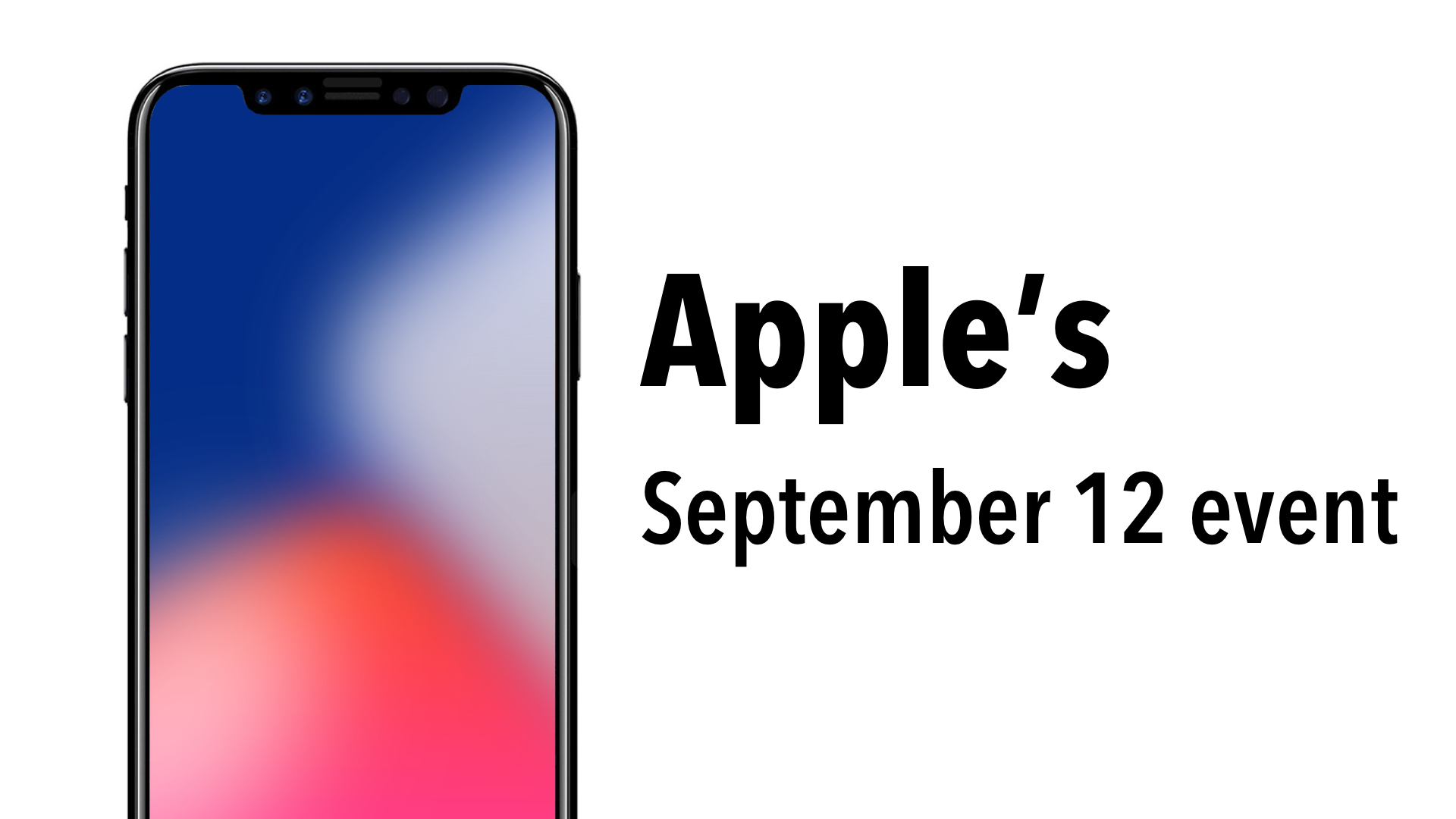 apple sent out invitations today to what we can only assume is this years iphone event which will be taking place on september 12 this year