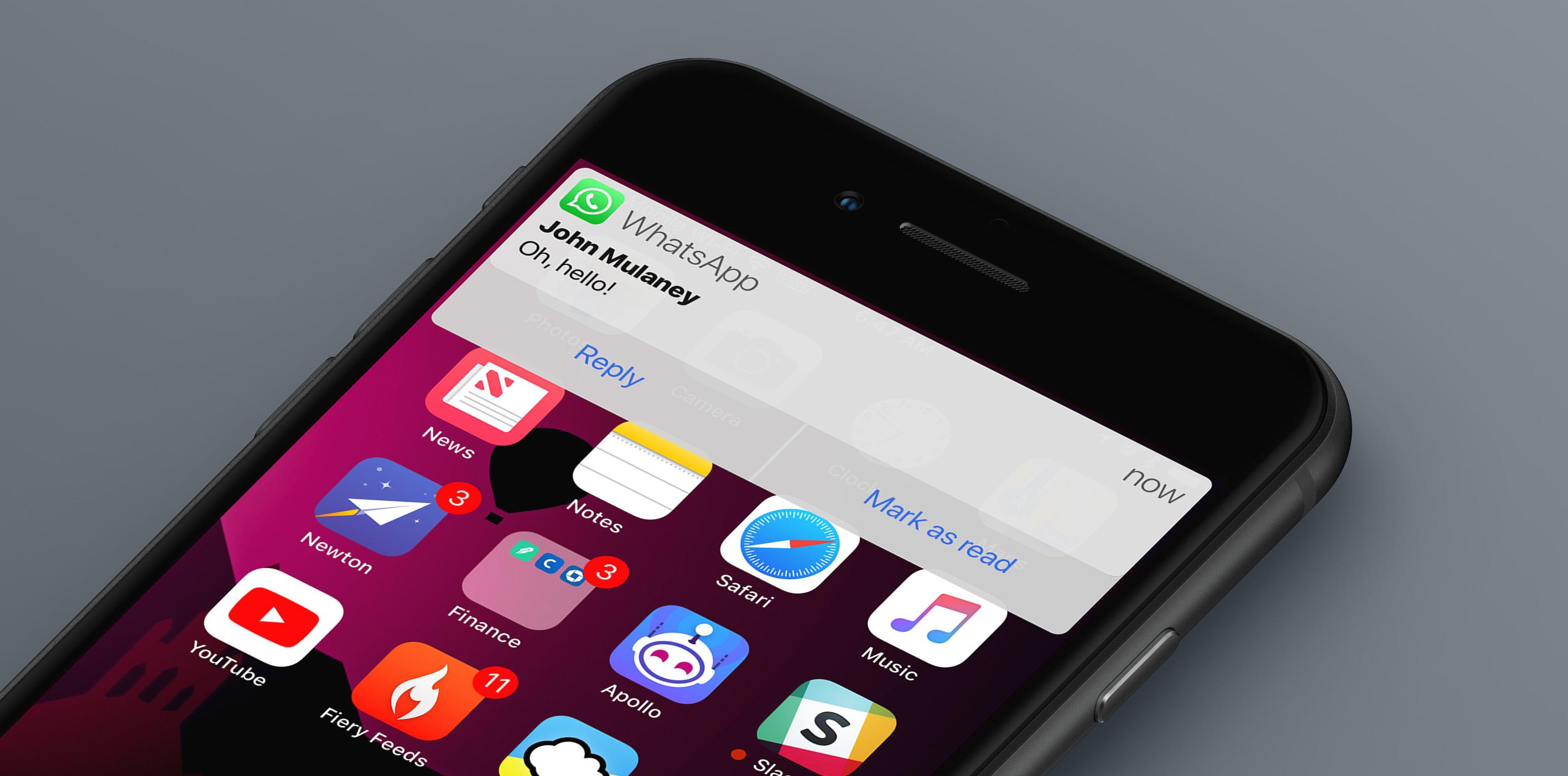iOS 12 Concept: Notifications – BirchTree