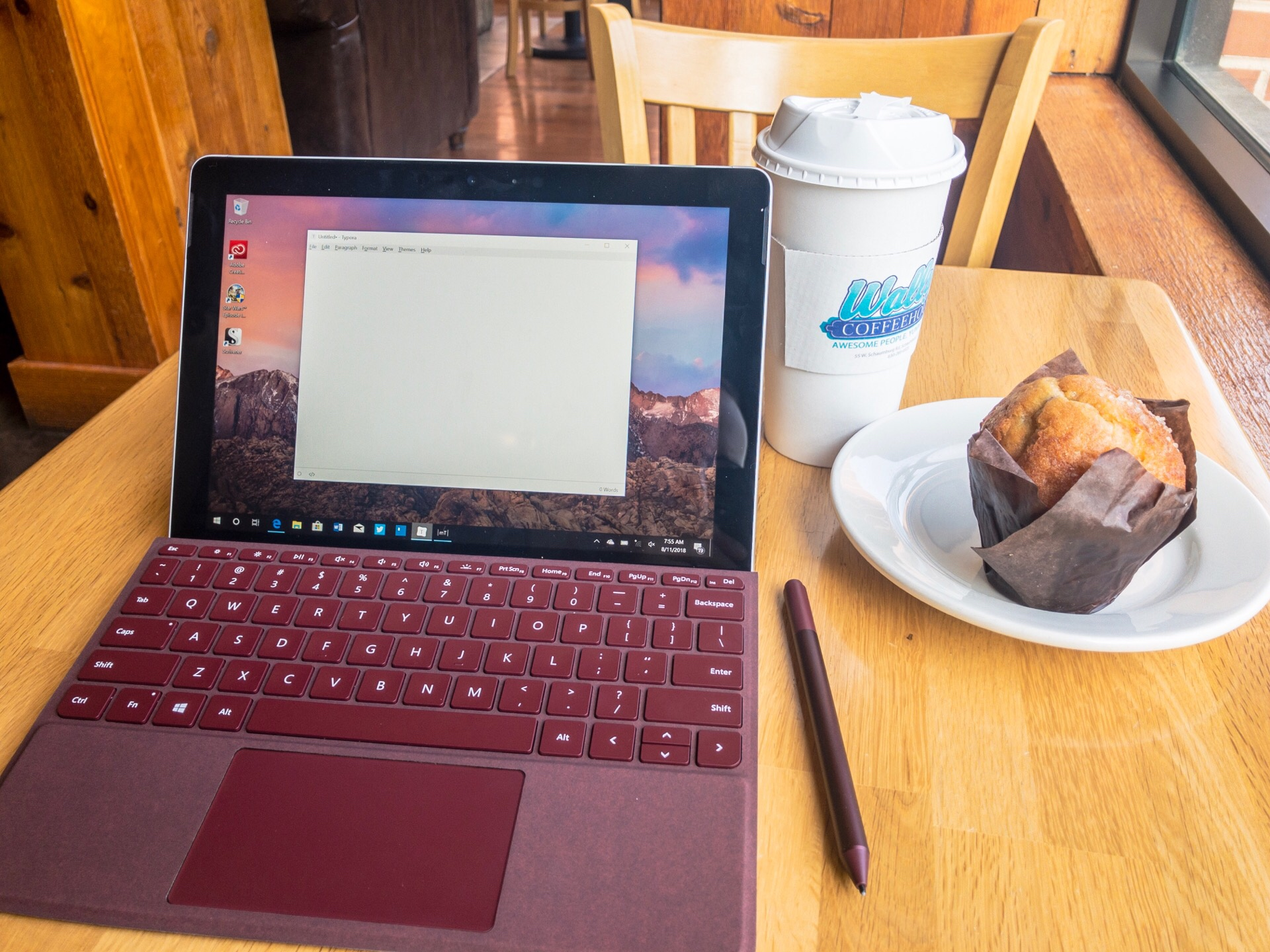 Microsoft Surface Go Review: Surface Type Cover and Pen